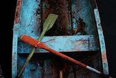 Old fisherman boat — Stock Photo