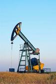 Industrial oil pump — Stock Photo