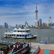 River water bus in Shanghai. — Stock Photo