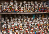 Vietnamese traditional dolls. — Stock Photo