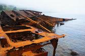 Rusty berth. — Stock Photo