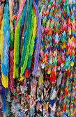 Japanese origami cranes. — Stock Photo
