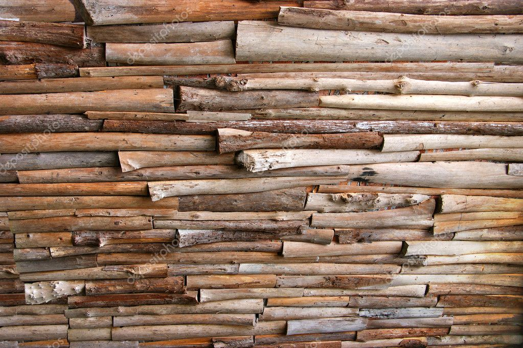 Make a Rustic Log Wall by Mitchell Dillman and Alex Fahl - YouTube