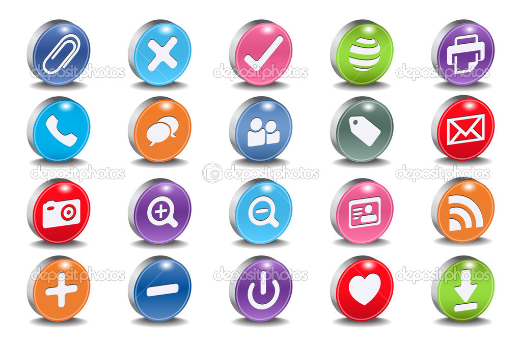 3d Human Icon Vector 3d Vector Useful Icons For