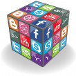 Social Rubic Cube — Stock Vector #5953562