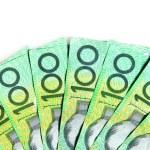 Australian One Hundred Dollar bills — Stock Photo #5525731