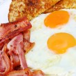 Bacon and Eggs — Stock Photo