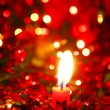 Christmas Candle — Stock Photo #5525801