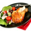 Roast Chicken Dinner — Stock Photo