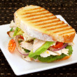 Chicken Sandwich - Stock Photo