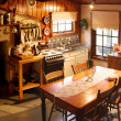 Постер, плакат: Country Cottage Kitchen