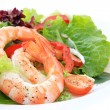 Prawn Salad — Stock Photo
