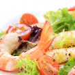 Prawn Salad — Stock Photo #5526066