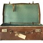 Vintage Suitcase, Open — Stock Photo