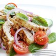 Постер, плакат: Chicken Cucumber and Mint Salad