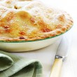 Home-baked Apple Pie — Stock Photo