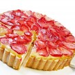 Strawberry Cheesecake — Stock Photo