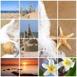 thumbnail of Summer Beach Collage
