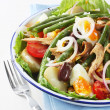 Stock Photo: Salad Nicoise