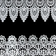 Lace Borders - Stock Photo