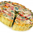Vegetable Quiche — Stock Photo