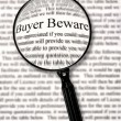 Buyer Beware - Stock Photo