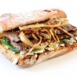 Steak Sandwich — Stock Photo #5526484