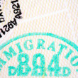 Passport Stamps - Foto Stock