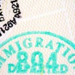Passport Stamps - Stockfoto