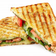 Stock Photo: Grilled Panini