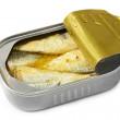 Can of Sardines — Stock Photo #5527122
