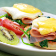 Eggs Benedict — Stock Photo #5527250