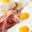 Bacon and Eggs — Stock Photo #5527432