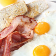 Bacon and Eggs - Stock Photo