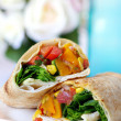 Vegetable Wrap — Stock Photo #5527710