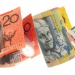 Aussie Money Border — Stock Photo