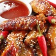 Honey Soy Chicken - Stock Photo