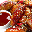 Chili Chicken — Stock Photo