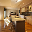 Contemporary Kitchen — Stockfoto