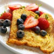 Royalty-Free Stock Photo: French Toast with Berries