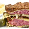 Reuben Sandwich - Stock Photo