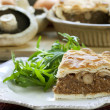 Stock Photo: Mushroom Pie