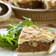 Mushroom Pie - Stock Photo