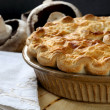 Mushroom Pie — Stock Photo