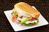 Chicken Sandwich — Stock Photo