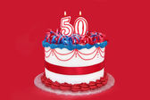 Fiftieth Celebration — Stock Photo