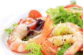 Salade de crevettes — Photo