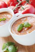 Roasted Tomato Soup — Stock Photo