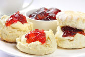 Devonshire Tea — Stock Photo