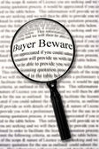 Buyer Beware — Stock Photo